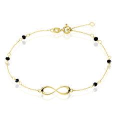 Bracelet Or Jaune Infini - Bracelets chaînes Femme   Marc Orian