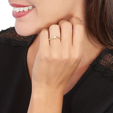 Bague Or Jaune Josane Multipierres Diamants
