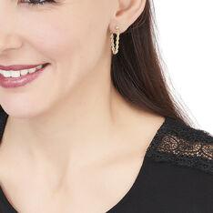 Boucles D'Oreilles  Or Jaune - Boucles d'oreilles Pendantes Femme | Marc Orian