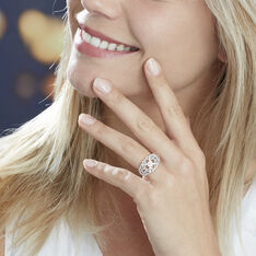 Bague Or Blanc Adanie Diamants