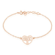 Bracelet Aimable Argent Coeur - Bracelets chaînes Femme | Marc Orian