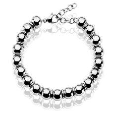 Bracelet Acier Boules