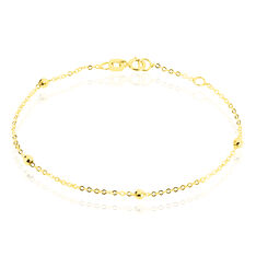 Bracelet Or Jaune Boules
