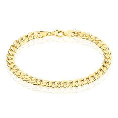 Bracelet Or Jaune Maille Gourmette - Bracelets mailles Femme | Marc Orian