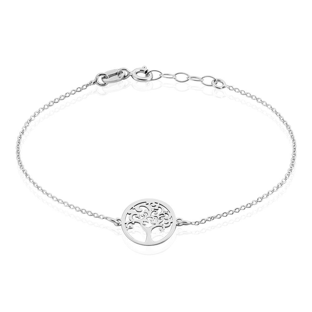 bracelet argent arbre de vie femme