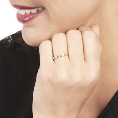 Bague Solitaire Anilie Or Jaune Diamant