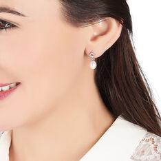 Boucles D'Oreilles Argent Perles De Culture