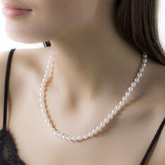Chocker Or Perles De Culture D'Akoya - Parure de mariage Femme | Marc Orian