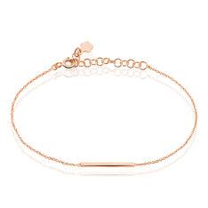 Bracelet Mahina Argent Rose