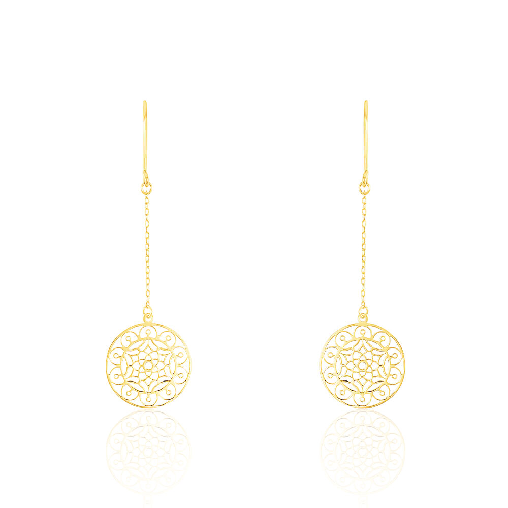 Anh Anh Or Or Jaune D'oreilles D'oreilles Boucles Boucles WrdeEQoxCB
