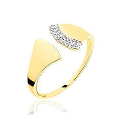 Bague Joan Or Jaune Evantail Diamants