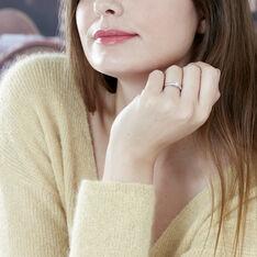 Solitaire Alexandra Or Blanc Diamant - Bagues Solitaire Femme | Marc Orian