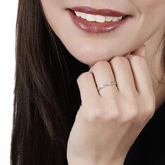 Bague Solitaire Asia Or Blanc Diamant - Bagues Solitaire Femme | Marc Orian
