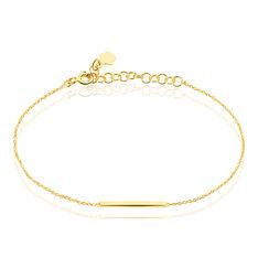Bracelet Tullia Argent Jaune - Bracelets chaînes Femme   Marc Orian