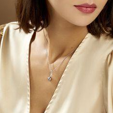 Collier Armance Argent Blanc Perle D'imitation - Colliers Femme | Marc Orian