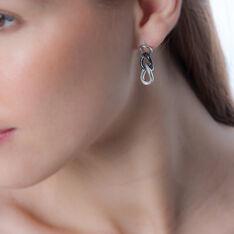 Boucles D'oreilles Argent - Boucles d'oreilles Pendantes Femme   Marc Orian