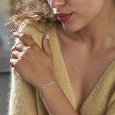 Bracelet Argent Rhodié Laodicee - Bracelets chaînes Femme | Marc Orian