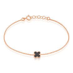 Bracelet Kathrine Argent Rose Oxyde De Zirconium - Bracelets chaînes Femme | Marc Orian