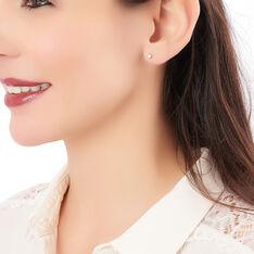 Boucles D'oreilles Puces Victoria Or Jaune Diamant - Clous d'oreilles Femme | Marc Orian