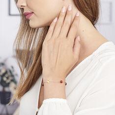 Bracelet Siaae Argent Blanc Ambre - Bracelets chaînes Femme | Marc Orian