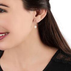 Boucles D'oreilles Pendantes Baroque Or Jaune Perle De Culture - Boucles d'oreilles Pendantes Femme | Marc Orian