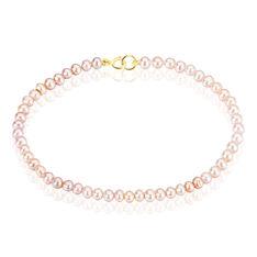 Bracelet Fatma-zohra Or Jaune Perle De Culture - Bracelets chaînes Femme | Marc Orian