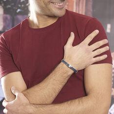 Bracelet Erick Acier Blanc - Bracelets cordons Homme | Marc Orian