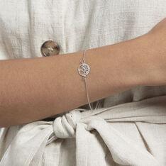Bracelet Arbre De Vie Argent Blanc - Bracelets chaînes Femme | Marc Orian