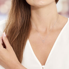 Collier Peytone Argent Blanc - Colliers Femme | Marc Orian