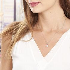 Collier Akiko Argent Blanc Perle De Culture Et Oxyde De Zirconium - Colliers Femme   Marc Orian