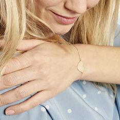 Bracelet Collection Gravable Or Jaune - Bracelets chaînes Femme | Marc Orian