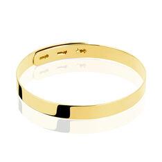 Bracelet Jonc Rebiha Argent Jaune - Bracelets jonc Femme | Marc Orian