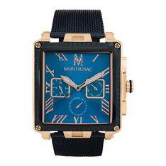 Montre Montignac C Chrono Bleu - Montres Homme   Marc Orian