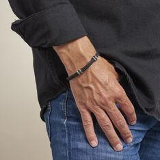 Bracelet Etienne Acier Blanc - Bracelets cordons Homme | Marc Orian