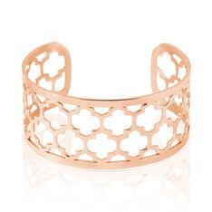 Bracelet Jonc Azemia Acier Rose - Bracelets jonc Femme | Marc Orian