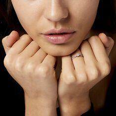 Bague Orphee Or Blanc Diamant - Parure de mariage Femme | Marc Orian