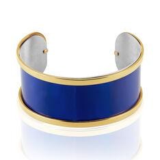 Jonc Acier Dore Kayssi Ajoure Deux Rangs - Bracelets jonc Femme | Marc Orian