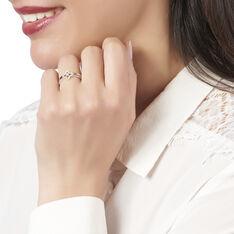 Bague Abie Or Blanc Diamant - Bagues Femme   Marc Orian