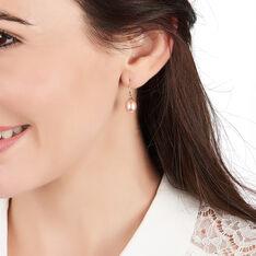 Boucles D'oreilles Or Perle De Culture - Boucles d'oreilles Pendantes Femme   Marc Orian