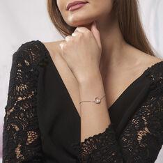 Bracelet Marthe Argent Blanc Perle De Culture Et Oxyde De Zirconium - Bracelets chaînes Femme | Marc Orian