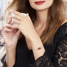 Bracelet Argent Ambre Oval - Bracelets chaînes Femme | Marc Orian