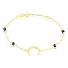 Bracelet Lwiza Or Jaune Oxyde De Zirconium - Bracelets chaînes Femme   Marc Orian