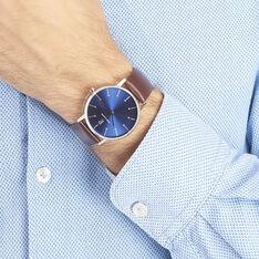 Montre Pierre Lannier Collection Elegance Style Bleu - Montres Homme | Marc Orian