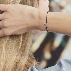 Bracelet Mailys Argent Blanc Oxyde De Zirconium - Bracelets chaînes Femme | Marc Orian