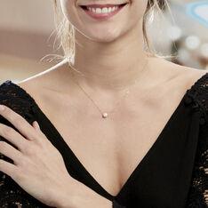 Collier Sissy Or Jaune Perle De Culture - Parure de mariage Femme   Marc Orian