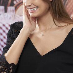 Collier Delfina Argent Blanc - Colliers Femme | Marc Orian