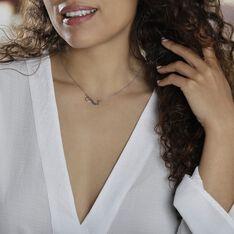 Collier Abelae Argent Blanc - Colliers Femme | Marc Orian