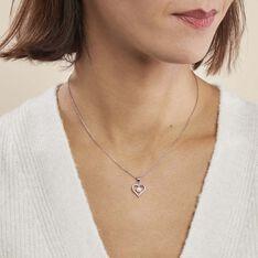 Collier Ainhoa Maille Forçat Argent Blanc Perle De Culture - Colliers Femme | Marc Orian