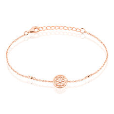 Bracelet Peinda Argent Rose Oxyde De Zirconium - Bracelets chaînes Femme | Marc Orian
