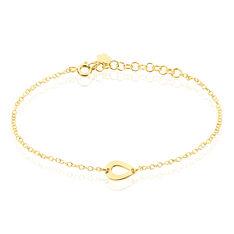 Bracelet Anh Argent Jaune - Bracelets chaînes Femme | Marc Orian